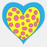 Happy Heart Adesivos Em Forma De Corações