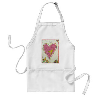 Happy Heart Adult Apron