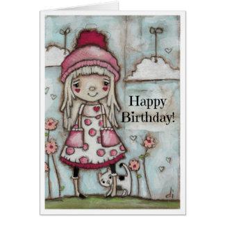 Happy Heart - Birthday Card