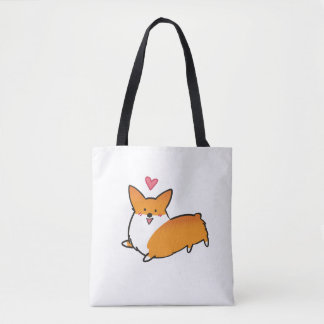 Happy Heart Corgi Bag (Customizable)