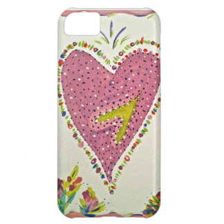 Happy Heart Cover For iPhone 5C