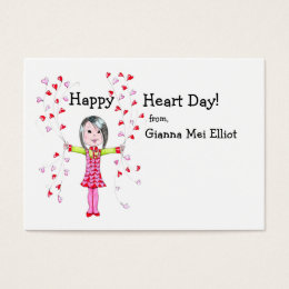 Valentines day business cards 2500 valentines day business card happy heart day ii valentines business card colourmoves