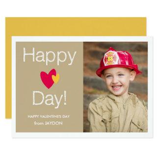 Happy Heart Day Valentine Photo Card