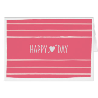 Happy Heart Day Valentine's Greeting Card