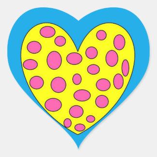 Happy Heart Heart Sticker