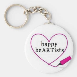 Happy Heartists Keychain