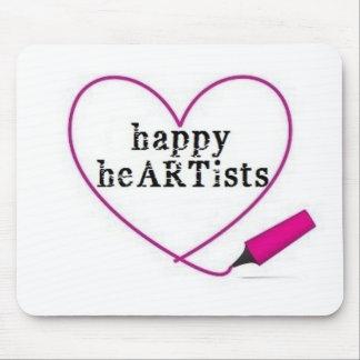 Happy Heartists Mousepad