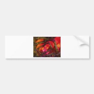 Happy Hearts Bumper Sticker