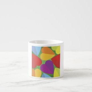 Happy Hearts Espresso Cup