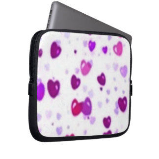 Happy Hearts Holiday Love Surprise Laptop Sleeves