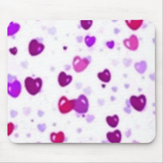 Happy Hearts Holiday Love Surprise Mouse Pad