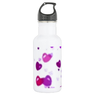 Happy Hearts Holiday Love Surprise Stainless Steel Water Bottle