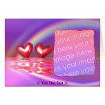 Happy Hearts (photo frame) Cards