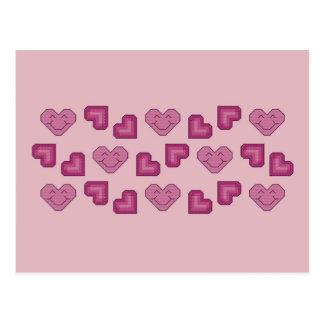 Happy Hearts Postcard