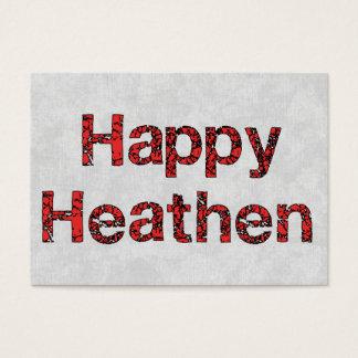 Happy Heathen Business Card