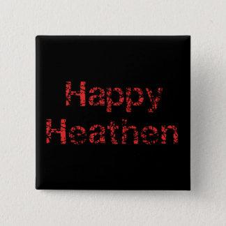 Happy Heathen Button