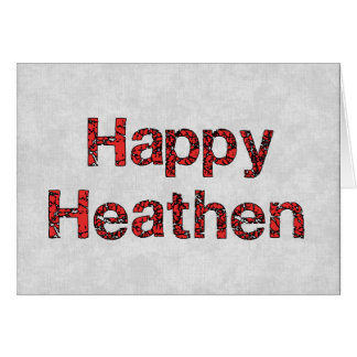 Happy Heathen Card