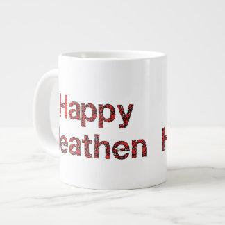 Happy Heathen Giant Coffee Mug