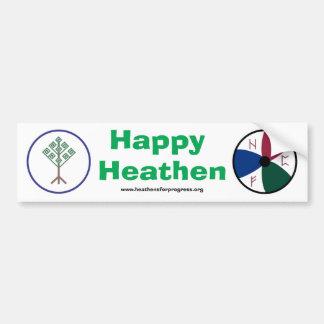 Happy Heathen HFP Bumper Sticker Car Bumper Sticker