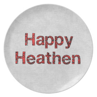 Happy Heathen Party Plates