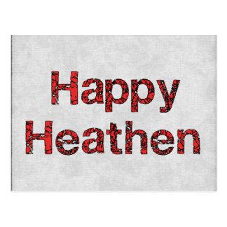 Happy Heathen Postcard
