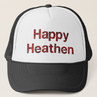 Happy Heathen Trucker Hat
