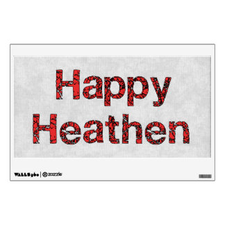 Happy Heathen Wall Decal