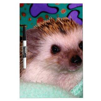 Happy Hedgehog Dry-Erase Board