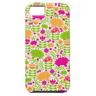 Happy Hedgehog iPhone SE/5/5s Case