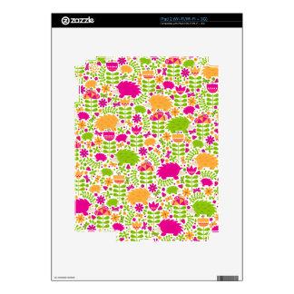 Happy Hedgehog Decal For iPad 2