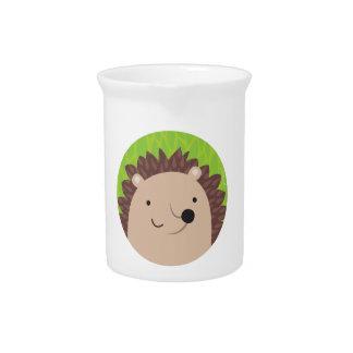 Happy Hedgehog - Woodland Friends Beverage Pitcher
