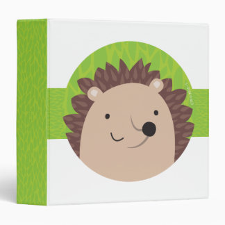 Happy Hedgehog - Woodland Friends Binder