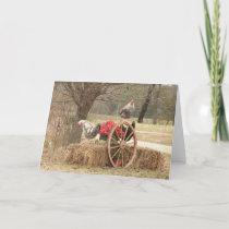 Happy Hen Holidays Card