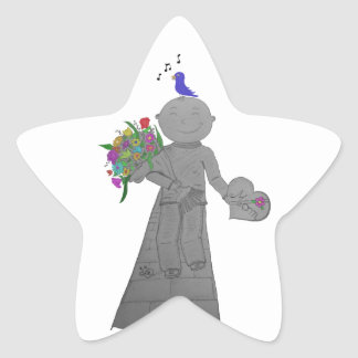 Happy Herbert Mother's Day Star Sticker
