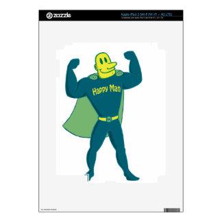 Happy Hero Gear iPad 3 Decals