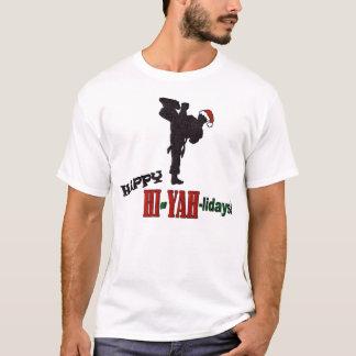 Happy Hi-Yah-Lidays T-Shirt