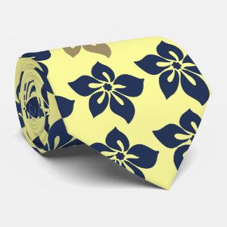 Happy Hibiscus Hawaiian Two-sidedPrinted Tie