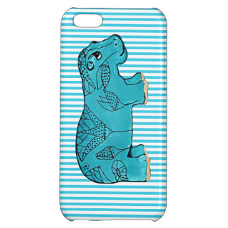 Happy Hippo Cover For iPhone 5C