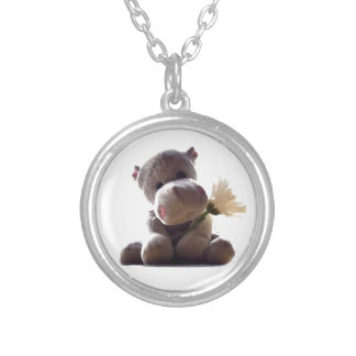 Happy Hippo Necklace
