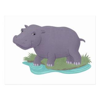 Happy Hippo Post Cards