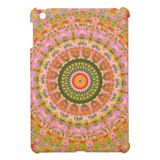 Happy Hippy Mandala iPad Mini Cases