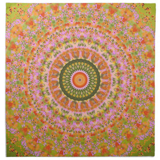 Happy Hippy Mandala Napkin