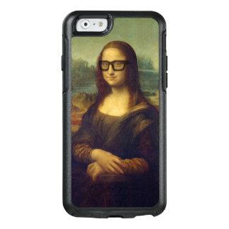 Happy Hipster Mona Lisa - Leonardo da Vinci OtterBox iPhone 6/6s Case