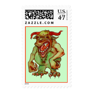 HAPPY HODAG POSTAGE STAMPS ~ MATCH INVITATIONS