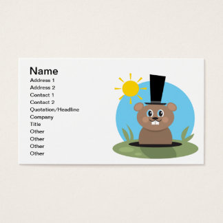 Happy Hog Business Card