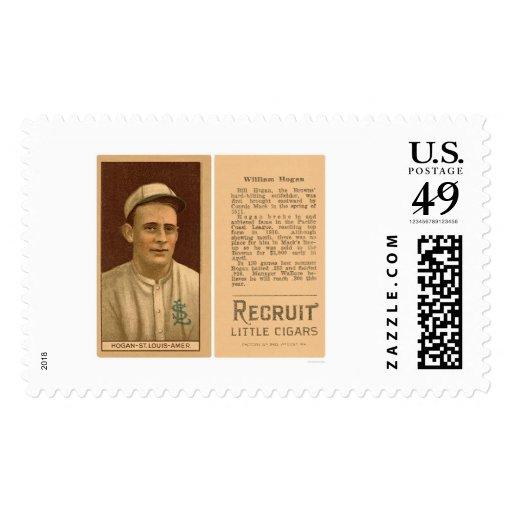 Happy Hogan Browns Baseball 1912 Postage Stamps