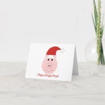 Happy Hoggy Days Holiday note cards