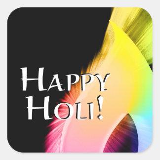 happy holi (light of color) sticker