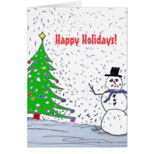 Happy Holiays Card
