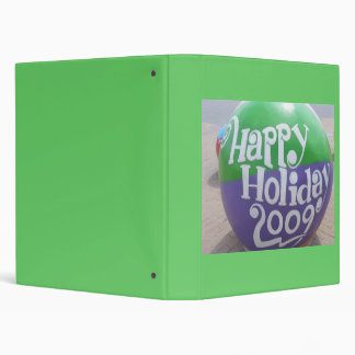 Happy Holiday 2009 3 Ring Binders